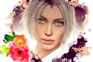 Аватарка Акварельные портреты