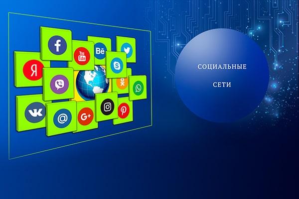 Баннер Социалные сети